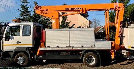 Podnośnik koszowy Poznań - Ruthmann Steiger tK 170