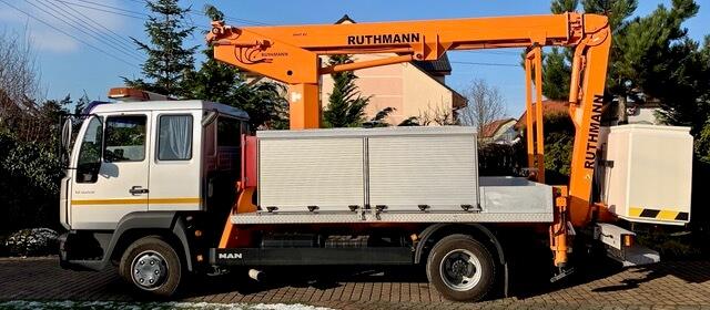 Podnośnik koszowy Ruthmann Steiger tK 170